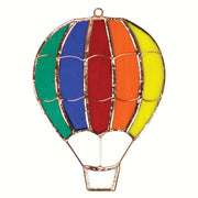 Hot Air Balloon Stained Glass Sun Catcher