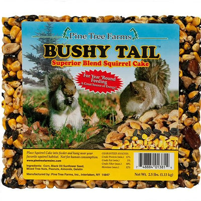 Bushy Tail Cake Squirrel Food