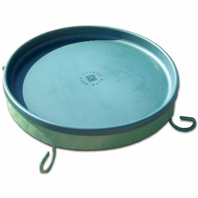 3 in 1 Heated Birdbath Green 14 inch