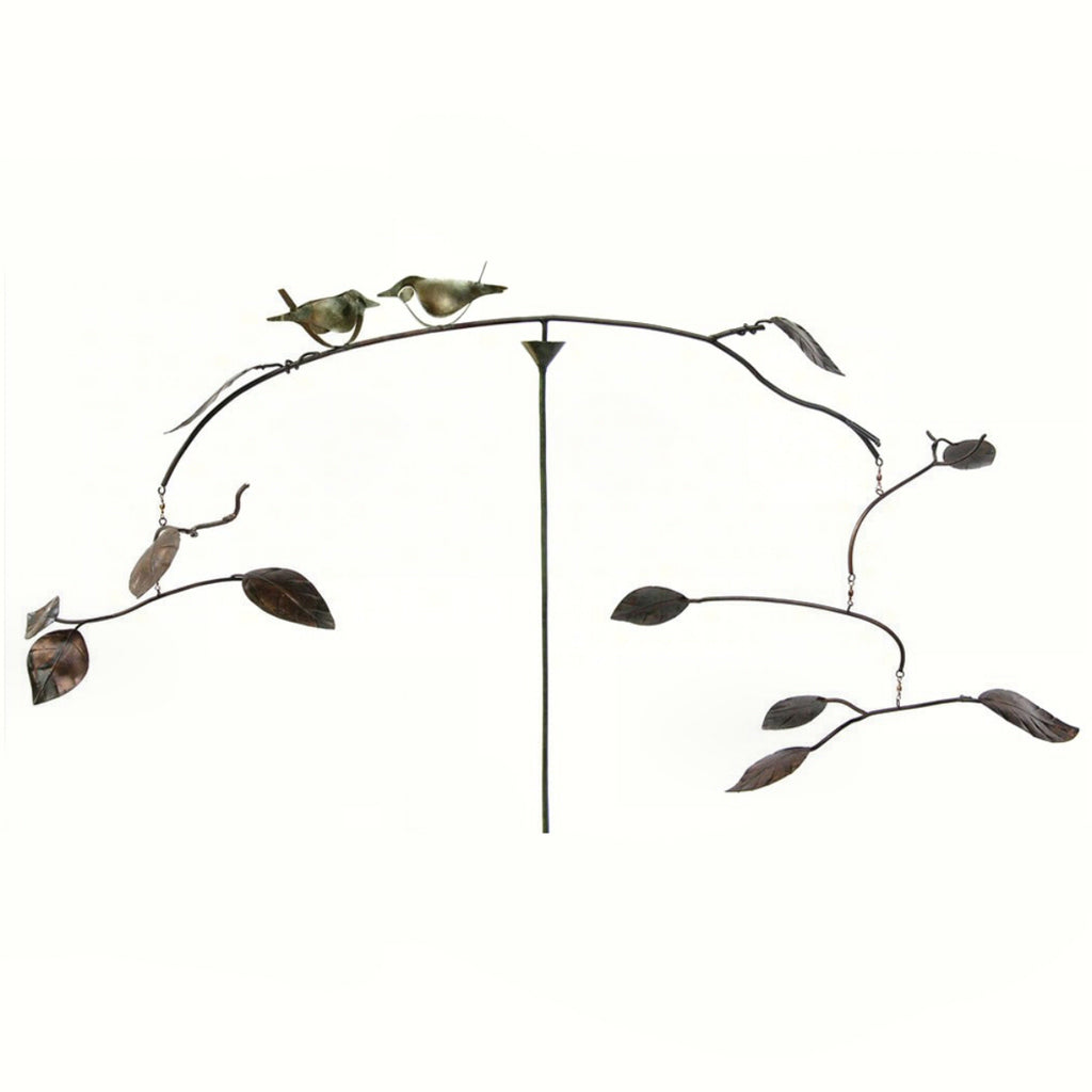 Little Birds Kinetic Balancer Garden Stake