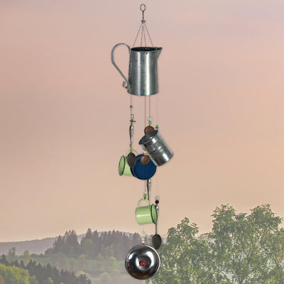 Coffee Time Retro Wind Chime