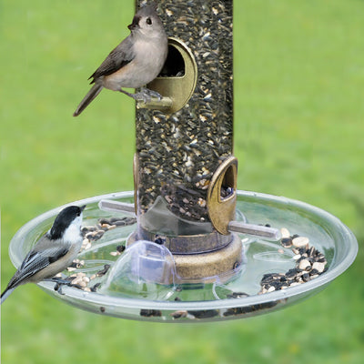 Quick Clean Tube Bird Feeder Seed Tray