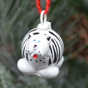 White Tiger Marble Ornament