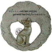 Cat Devoted Angels Memorial Stepping Stone