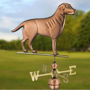 Labrador Retriever Copper Weathervane