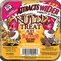 Nutty Treat Suet Cake 11.75 oz - 3 pack - Momma's Home Store