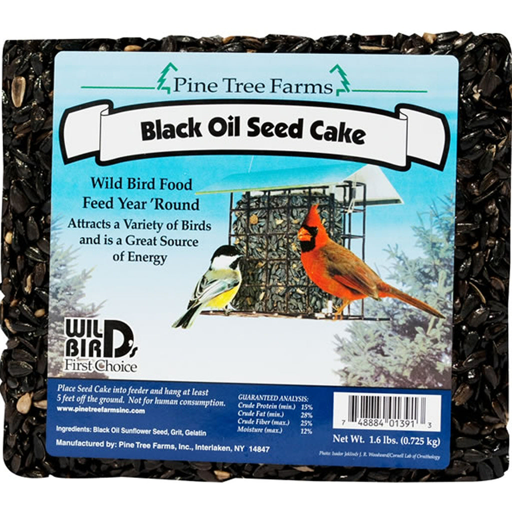 Black Oil Sunflower Seed Cake 1.6 lb