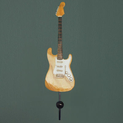 Stratocaster Electric Guitar Wall Hook Natural