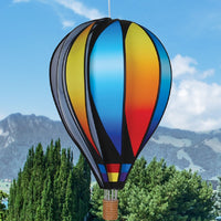 Sunset Gradient Hot Air Balloon Spinner 22 inch