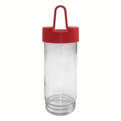 Dr JBs Replacement Feeder Jar Red