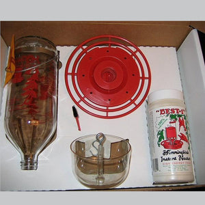 Glass Hummingbird Feeder Kit 32 oz
