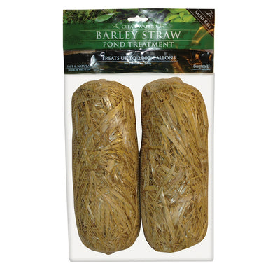 Barley Straw Bale 1000 Gal Pond Treatment 2 Pk