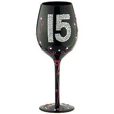 Celebration 15 Wineglass