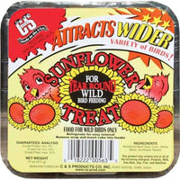 Sunflower Treat Suet Cake 11 oz - 3 pack - Momma's Home Store