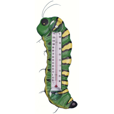 Caterpillar Window Thermometer Large