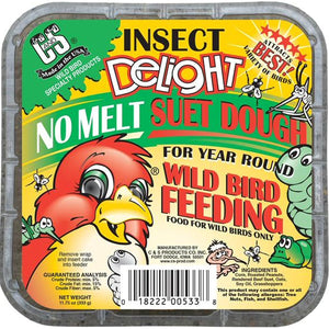 Insect Delight No Melt Suet Dough - 3 pack