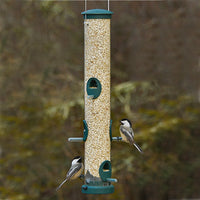 Quick Clean Tube Bird Feeder 20 inch Spruce