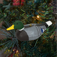Decoy Mallard Duck Tree Ornament