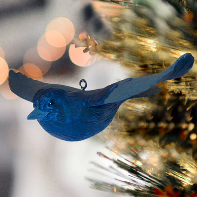 Purple Martin Tree Ornament