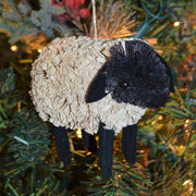 Lamb Bristle Brush Ornament
