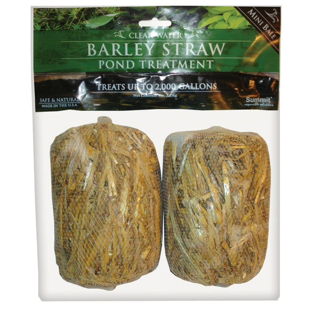 Barley Straw Bales 500 Gal Pond Treatment 2 Pk