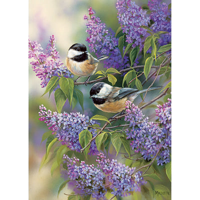 Chickadee Duo 35 Piece Tray Puzzle