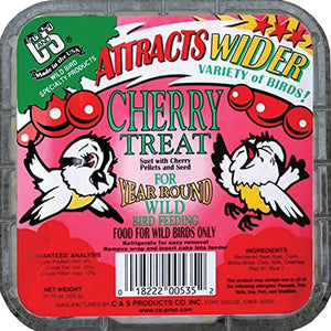 Cherry Treat Suet Cake 11.75 oz - 3 pack - Momma's Home Store