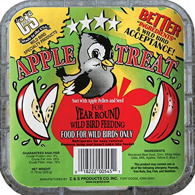 Apple Treat Suet Cake 11.75 oz - 6 pack