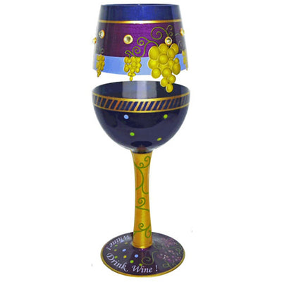 Don't Whine! Drink Wine! Wineglass