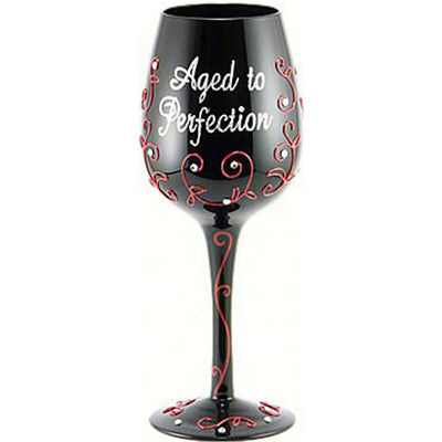 Aged to Perfection Wineglass
