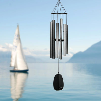 Bells of Paradise Antique Silver Wind Chime 32