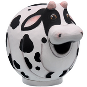 Cow Gord-O Wooden Birdhouse