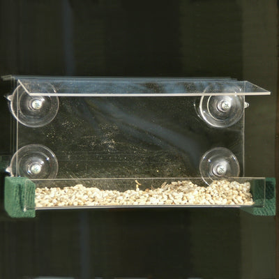 Open Diner Window Bird Feeder