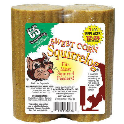 Sweet Corn Squirrelog Refill 2 pack