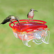 The Gem Window Hummingbird Feeder