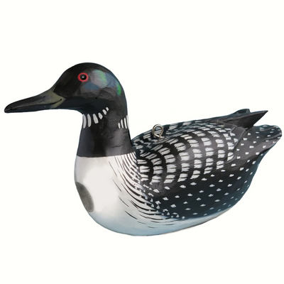 Common Loon Wooden Birdhouse
