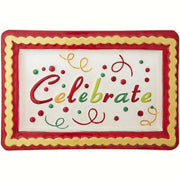 Celebrate Glass Serving Platter