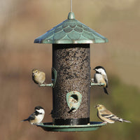Acorn Screen Metal Bird Feeder
