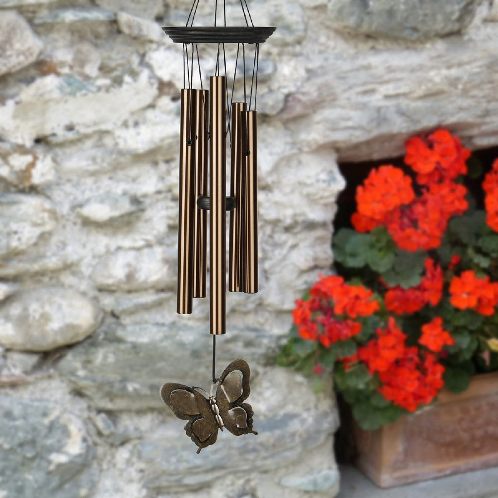 My Butterfly Bronze Wind Chime