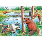 The Beaver Pond 35 pc Tray Puzzle