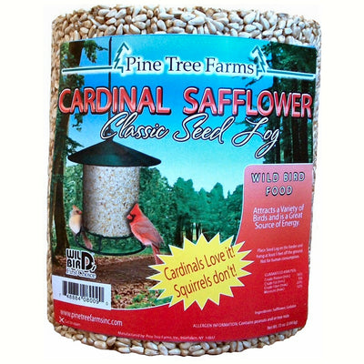 Cardinal Safflower Classic Seed Log 4.5 lb