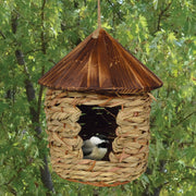 Roosting Pocket Bird House w/Cedar Roof 10 inch