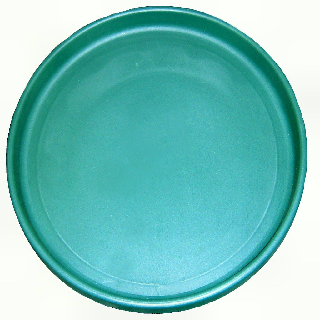 Mini Bird Bath Replacement Pan Green 14 inch
