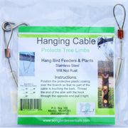 Limb Protector Bird Feeder Hanging Cable