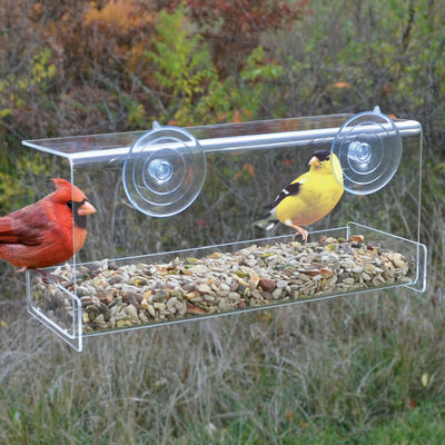 Clear View Deluxe Window Feeder