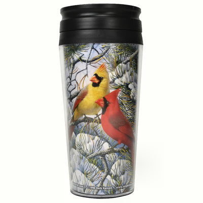 Fire in the Snow Thermal Mug