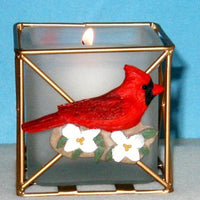 Cardinal Candle Holder - Momma's Home Store