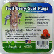 Fruit & Berry Suet Plugs 9.4 oz - 3 pks