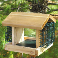 Plantation Bird Feeder w/Suet Baskets Small
