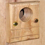 Cedar Bird House Predator Guard